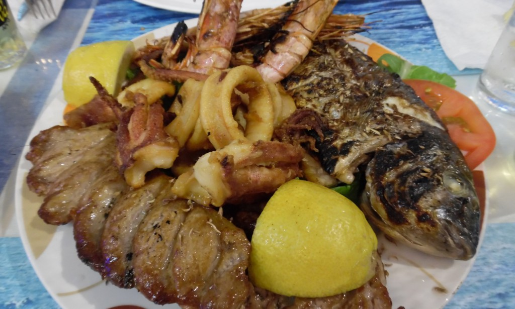 Kalymnos Miltos Masouri fishplate