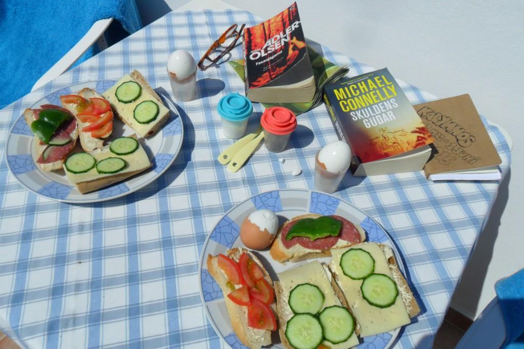 Moussas, frukost, breakfast, Kalymnos